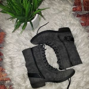 White Mountain Combat Boots
